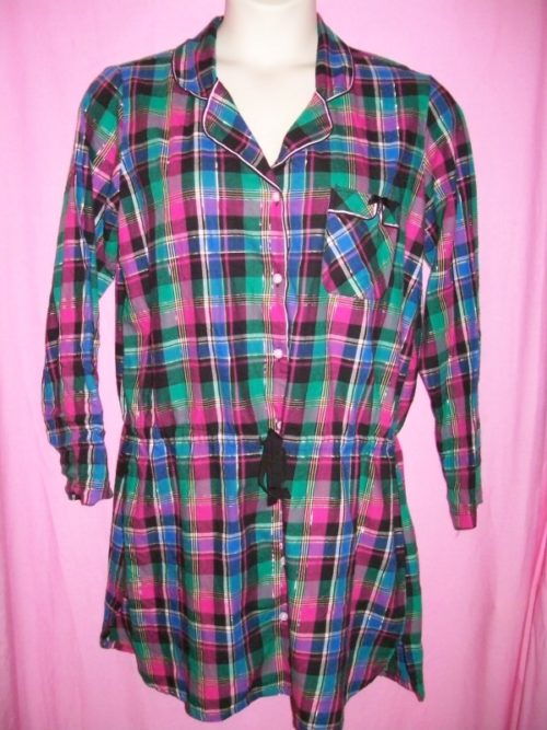 VS Dreamer Sleepshirt Plaid