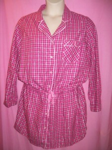 Victoria's Secret Lingerie The Dreamer Cotton Flannel Sleepshirt