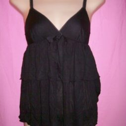 Victoria's Secret Modal Babydoll black