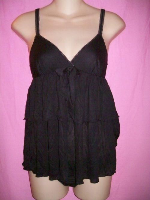 Victoria's Secret Modal Babydoll black