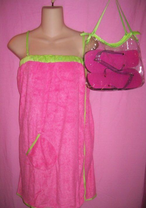Jolie Swimwear Coverup Wrap Pink
