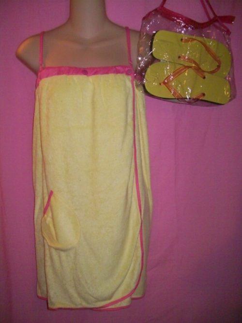 Jolie Swimwear Coverup Wrap Yellow
