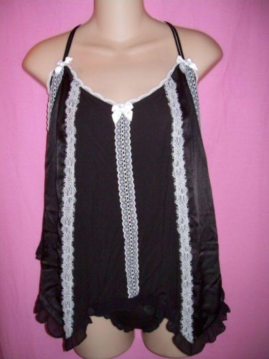 Victorias Secret Satin Modal Lace Sleepwear