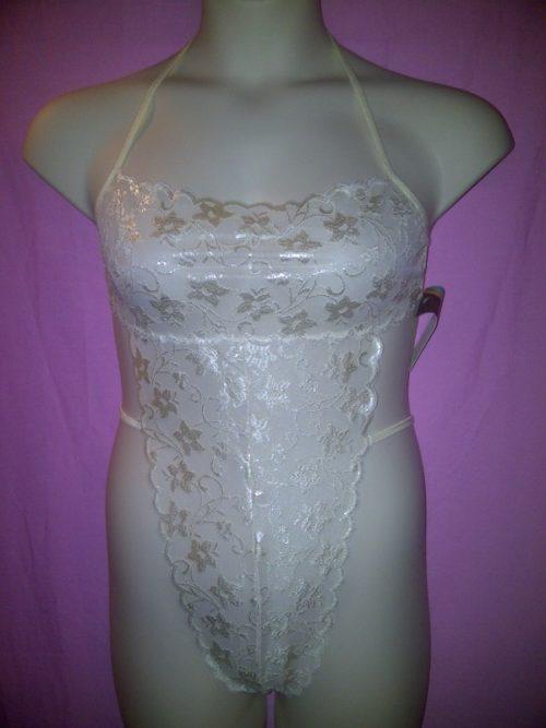 Fantasy Lingerie Lace Teddy fapf542_2