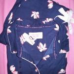 VS Dreamer Cotton Pajama Navy Floral