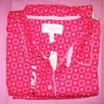 VS Dreamer Cotton Pajama Peach Foulard