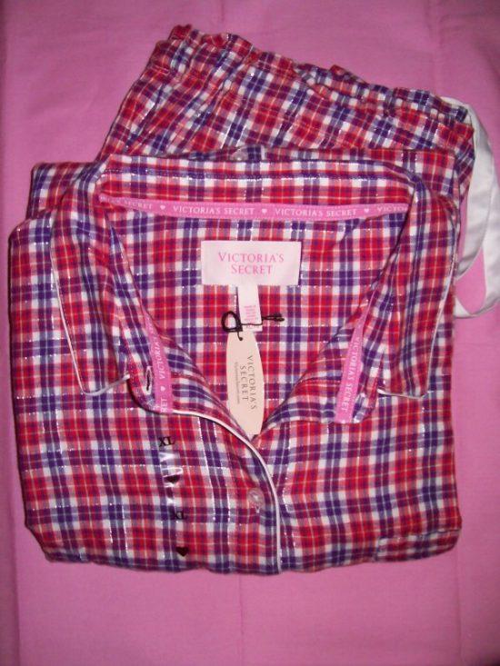 VS Dreamer Cotton Pajama Red White Gingham