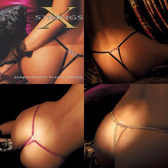 Xstring thong collage