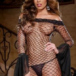 Seductive_Siren_Fence_Net_Dress_dg8045