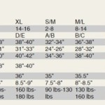 dreamgirl US size chart