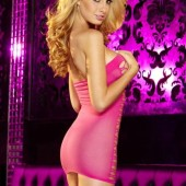 Hustler_Fencenet_Mini_Dress_hl37_Pink_b