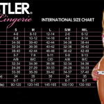 Hustler size chart