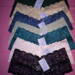 susy assorted lace boyshorts