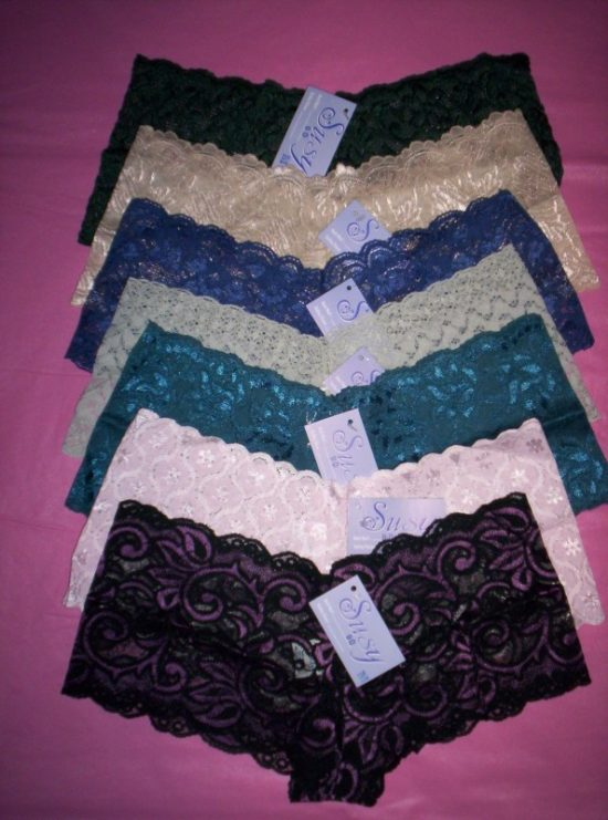 Susy All Lace Cheeky Boyshort Lots Naughty And Nice Lingerie