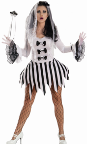 Escante Costumes Lingerie Ghost Girl Costume Roleplay Set
