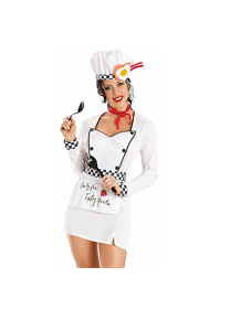 Escante Costumes Lingerie Tasty Chef Costume Roleplay Set