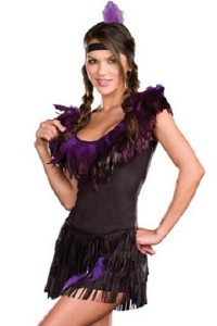 Dreamgirl Lingerie Pow Wow Wow Indian Costume Set
