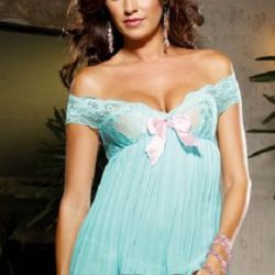 Dreamgirl_Pleated_Babydoll_Thong_dg7961