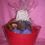 Lelo Massage Oil Candle Gift Basket Vanilla Cacao