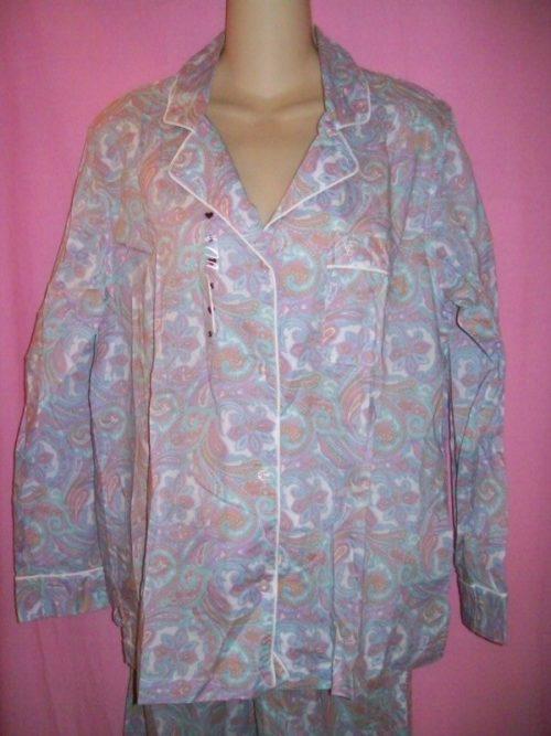 Victorias_Secret_Mayfair_Sleepwear_Pajamas_Purple_Paisley