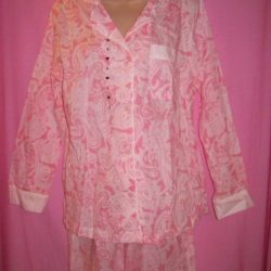 Victorias_Secret_Mayfair_Sleepwear_Pajamas_Pink_Paisley