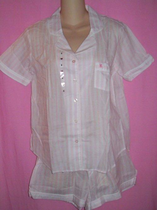 Victorias_Secret_Mayfair_Boxer_Sleepwear_Pajamas_Stripes
