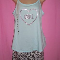 victorias secret pillowtalk sleepwear leopard