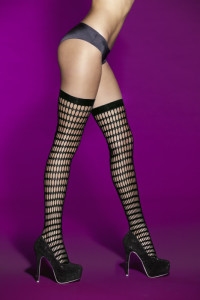 Hauty Seduce Me Rounded Fishnet Thigh Highs
