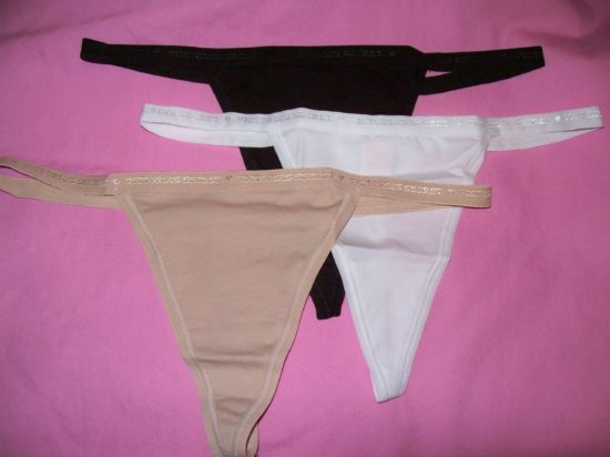 Cotton Signature V-String Panty Lots