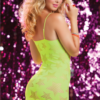 Seven 'Til Midnight seamless dress StarStruck 9702P YELLOW B