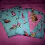 p.j. salvage flannel sleepwear blue owls
