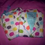 p.j. salvage flannel sleepwear white elephants