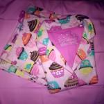 p.j. salvage flannel sleepwear pink cupcakes