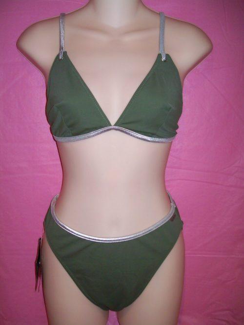 bluepoint swimwear green silver