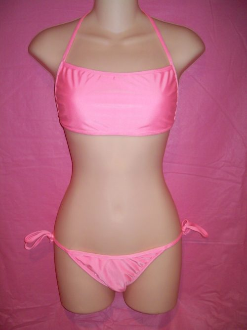 Devon Swimwear All Ties Bikini Pink