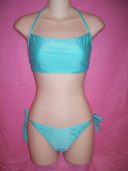 Devon Swimwear All Ties Bikini Mint