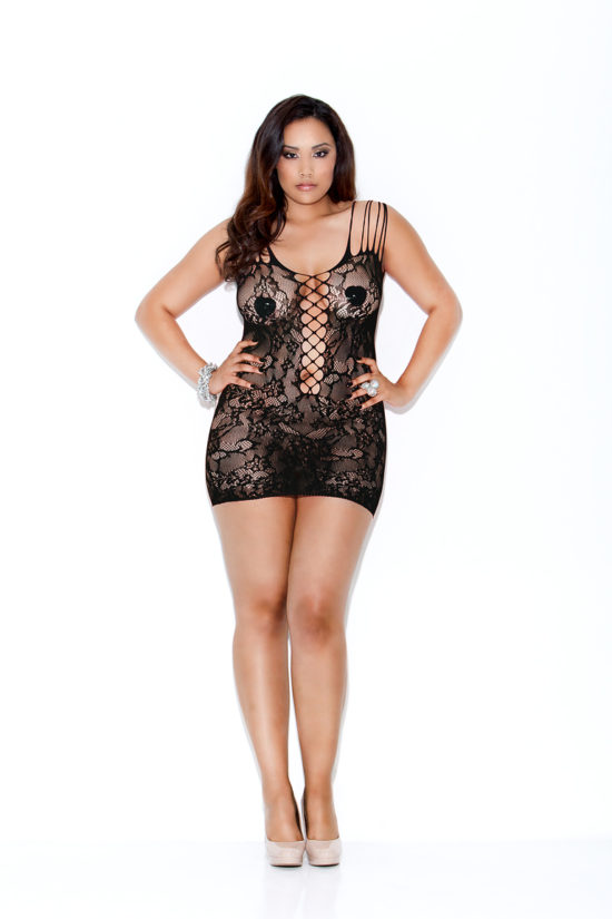 Hauty Plus Size Rebel Rose