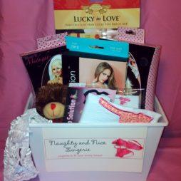 ultimate bridal gift basket