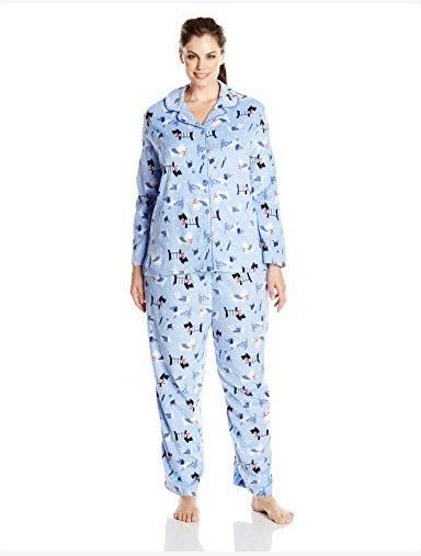 Karen Neuburger dog print pajama