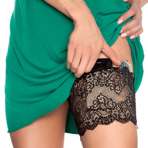 GirlyGoGarter Smart Garter With Pockets