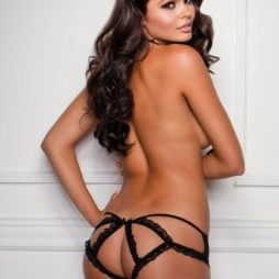 iCollection Caged Cheeky Panty back