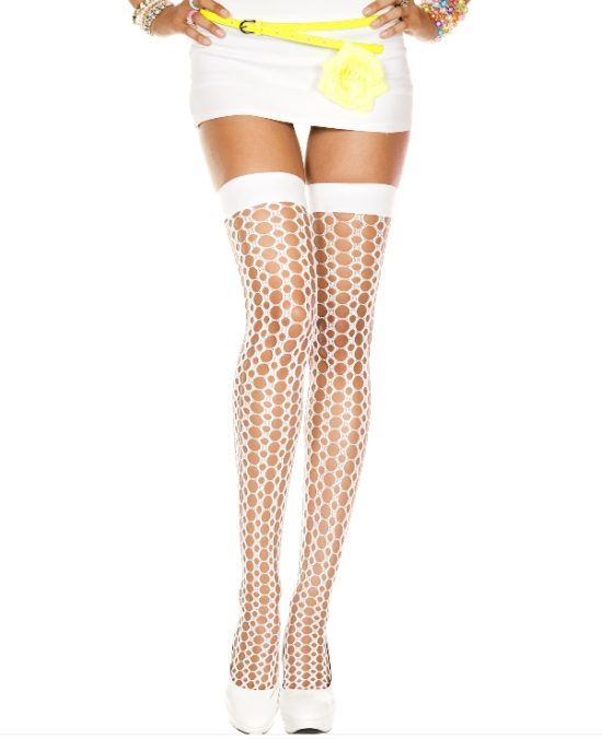 Music Legs Crochet Thigh Highs