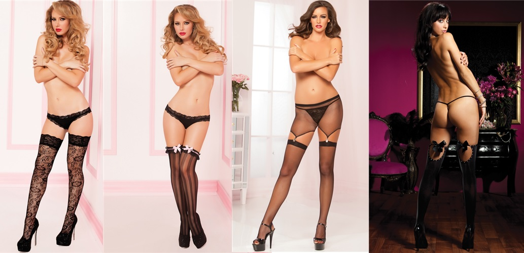 black dress hosiery
