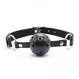 Naughty and Nice Lingerie Ball Gag
