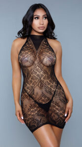 Be Wicked Ready For Tonight Bodystocking