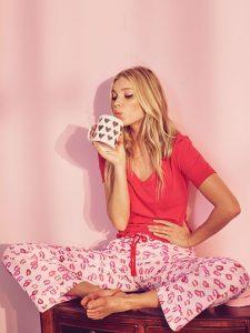 Victoria's Secret Lingerie The Mayfair tee-jama Sleepwear Set